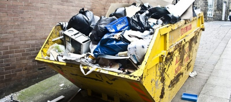 Things You Should Not Throw in Dumpsters